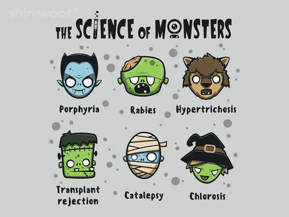 The Science Of Monsters T Shirt