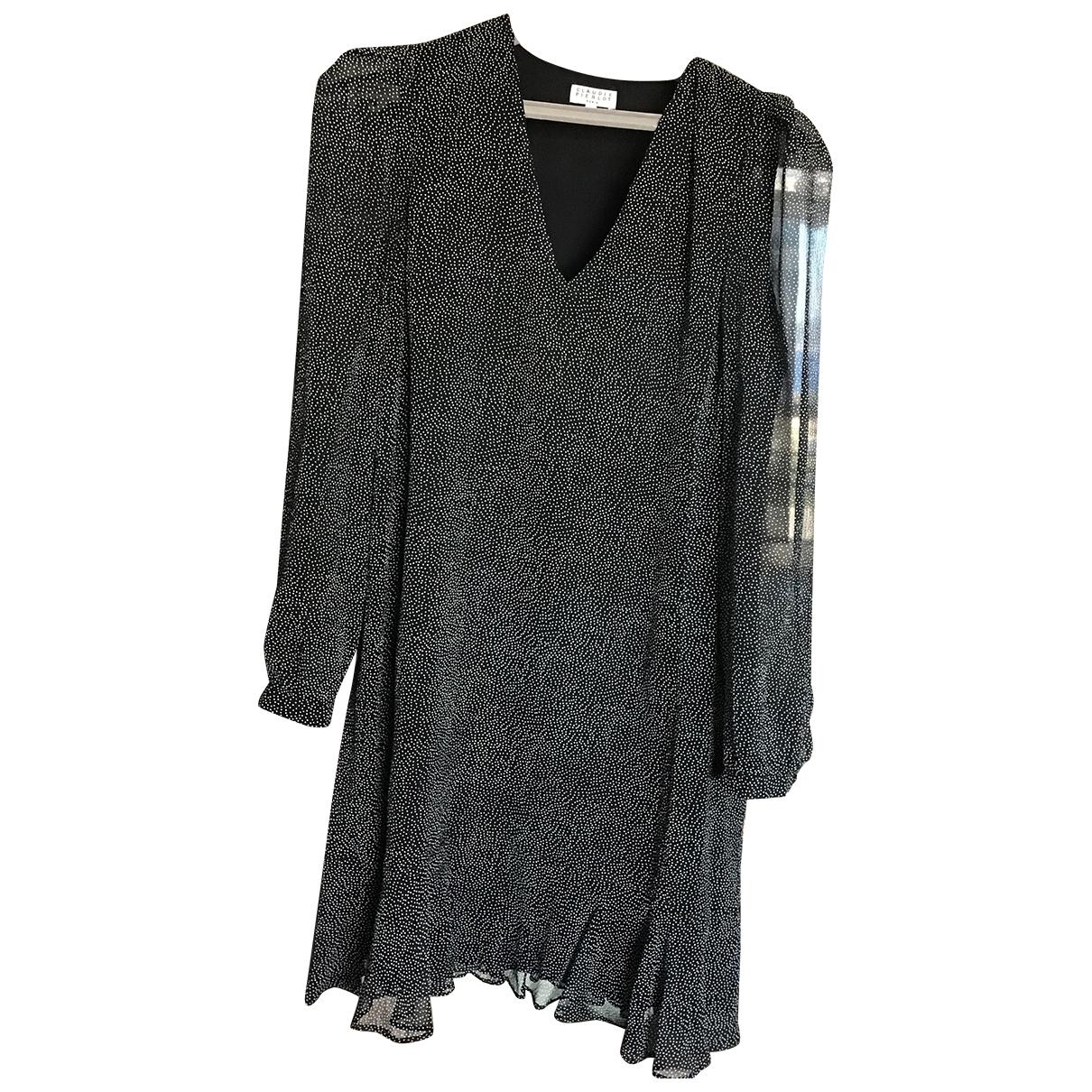 Claudie Pierlot \N Black Silk dress for Women 40 FR