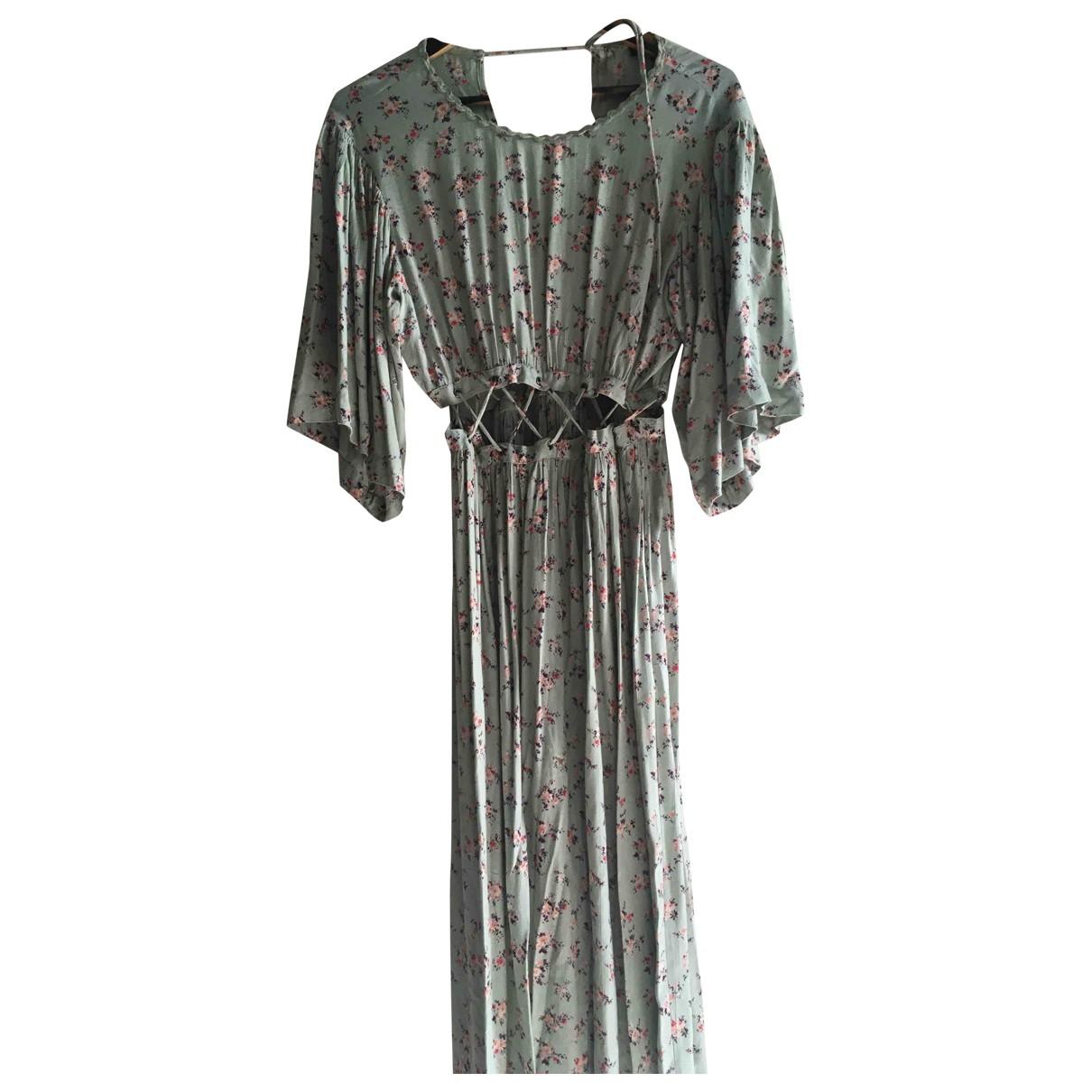Tophop \N Kleid in  Gruen Viskose