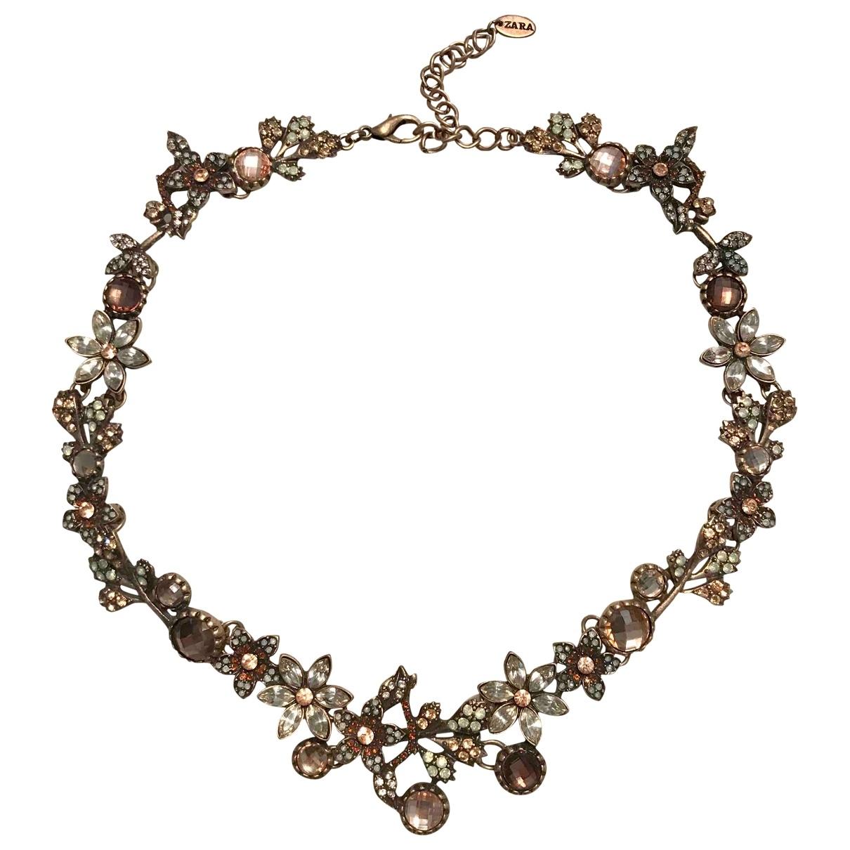 Zara \N Gold Metal necklace for Women \N