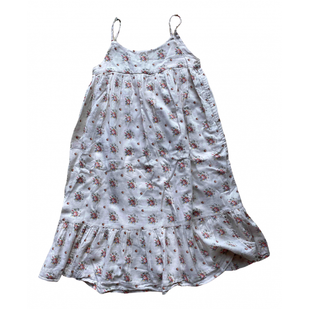 Bonpoint \N Ecru Cotton dress for Kids 12 years - XS FR