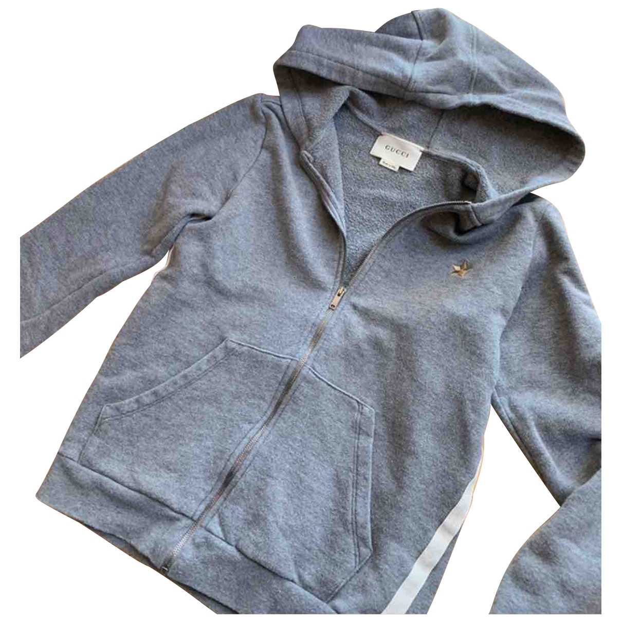 Gucci \N Grey Cotton Knitwear for Kids 14 years - S