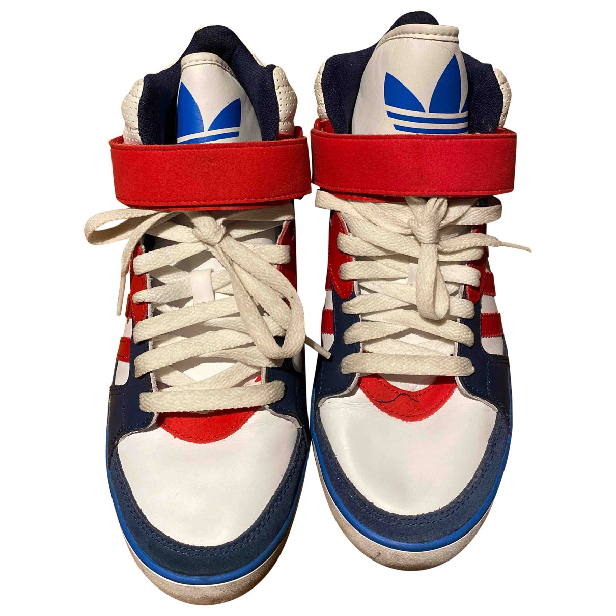 Adidas N Multicolour Leather Trainers for Women 7 US