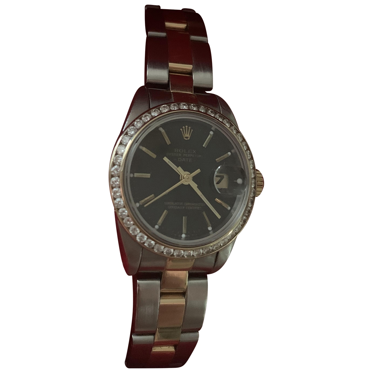 Rolex Lady Oyster Perpetual 26mm Uhr in  Bunt Gold und Stahl