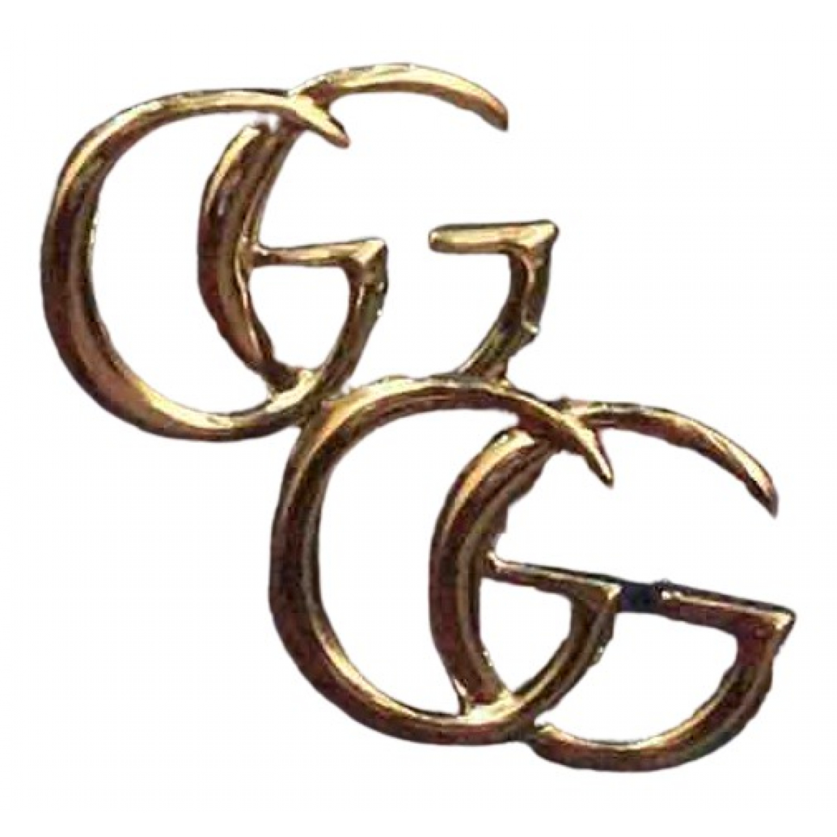 Gucci \N OhrRing in  Gold Silber