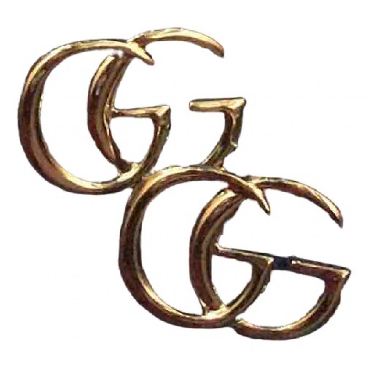 Gucci - Boucles doreilles   pour femme en argent - dore