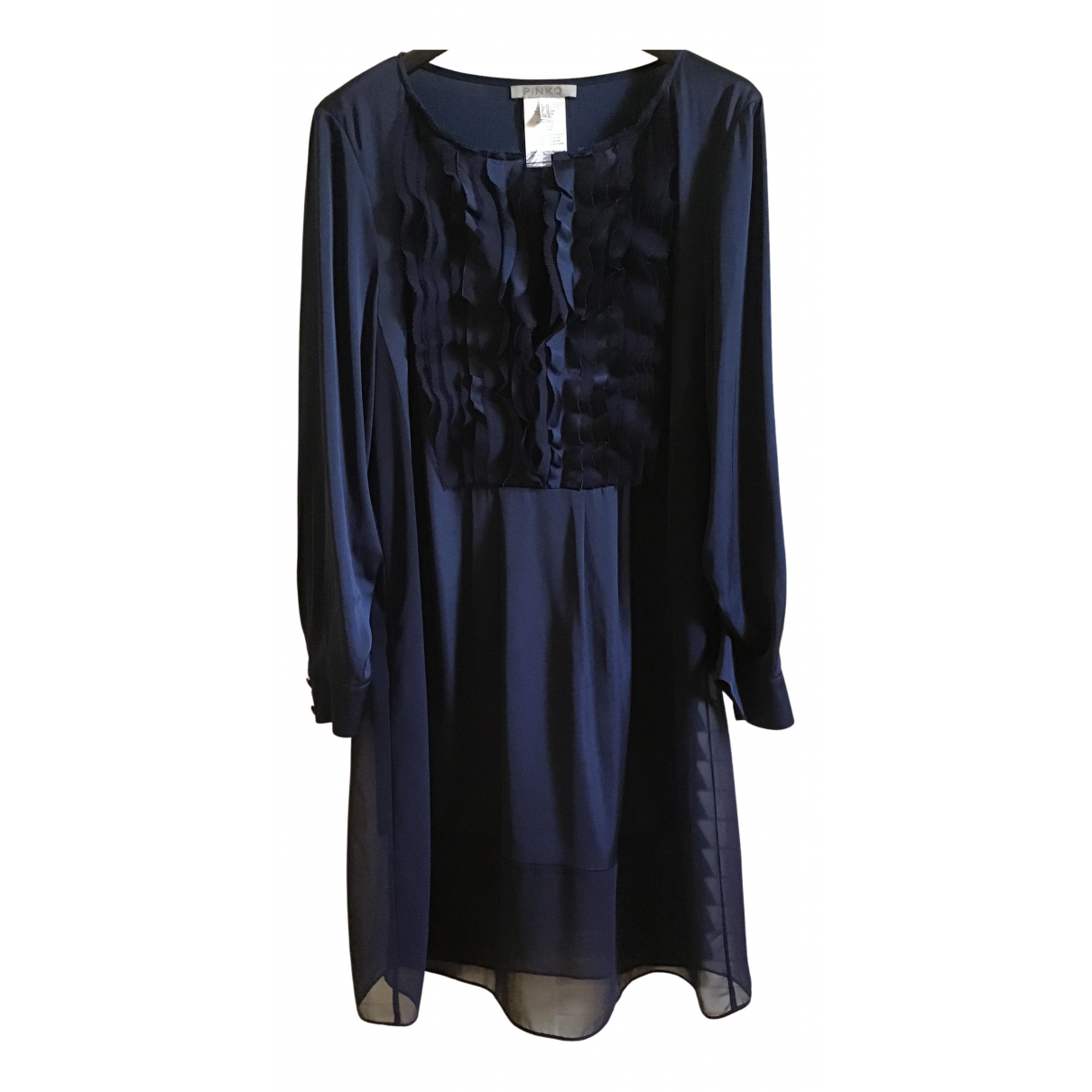 Pinko - Robe   pour femme - bleu