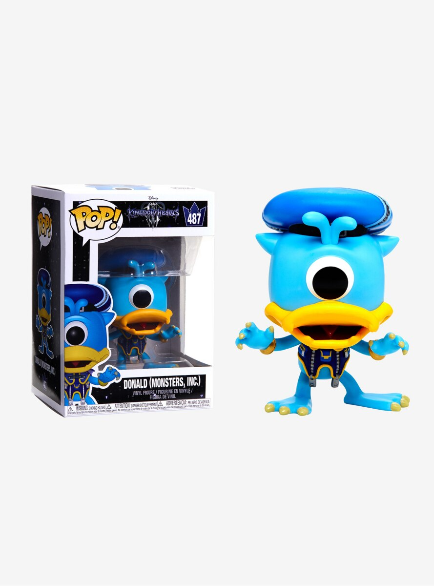 Funko Pop! Disney Kingdom Hearts III Donald Monsters Inc Vinyl Figure