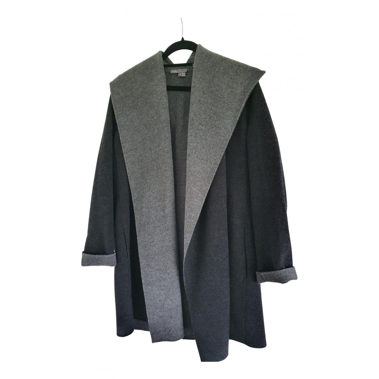 Vince - Veste   pour femme en laine - gris