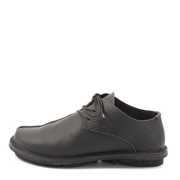 Trippen, Gangster m Closed Men's Lace-up Shoes, black Größe 41