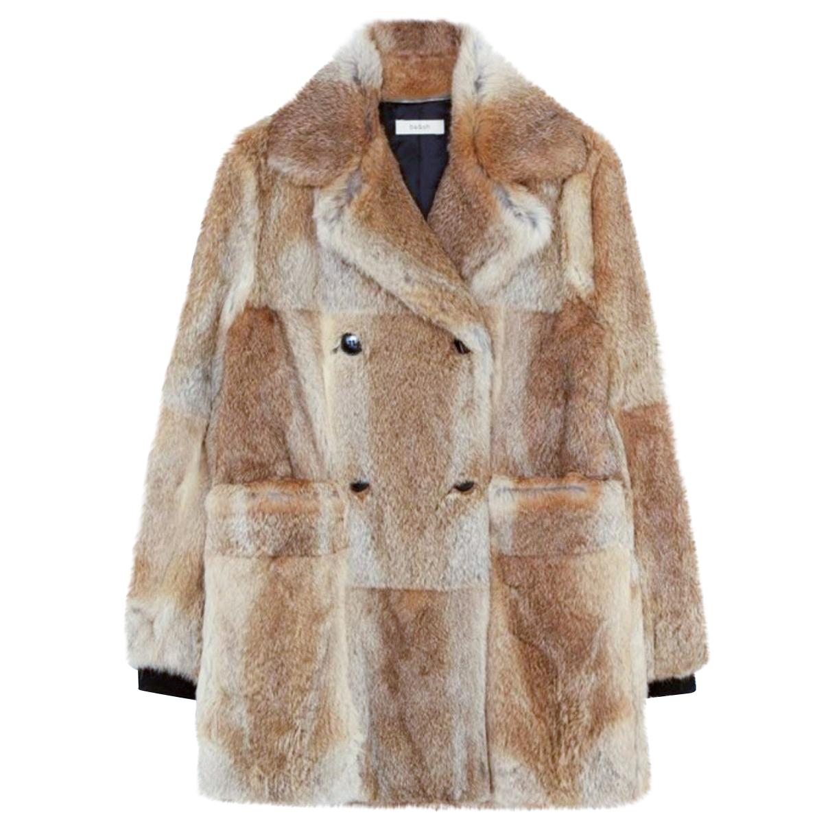 Ba&sh - Manteau Fall Winter 2019 pour femme en lapin - multicolore