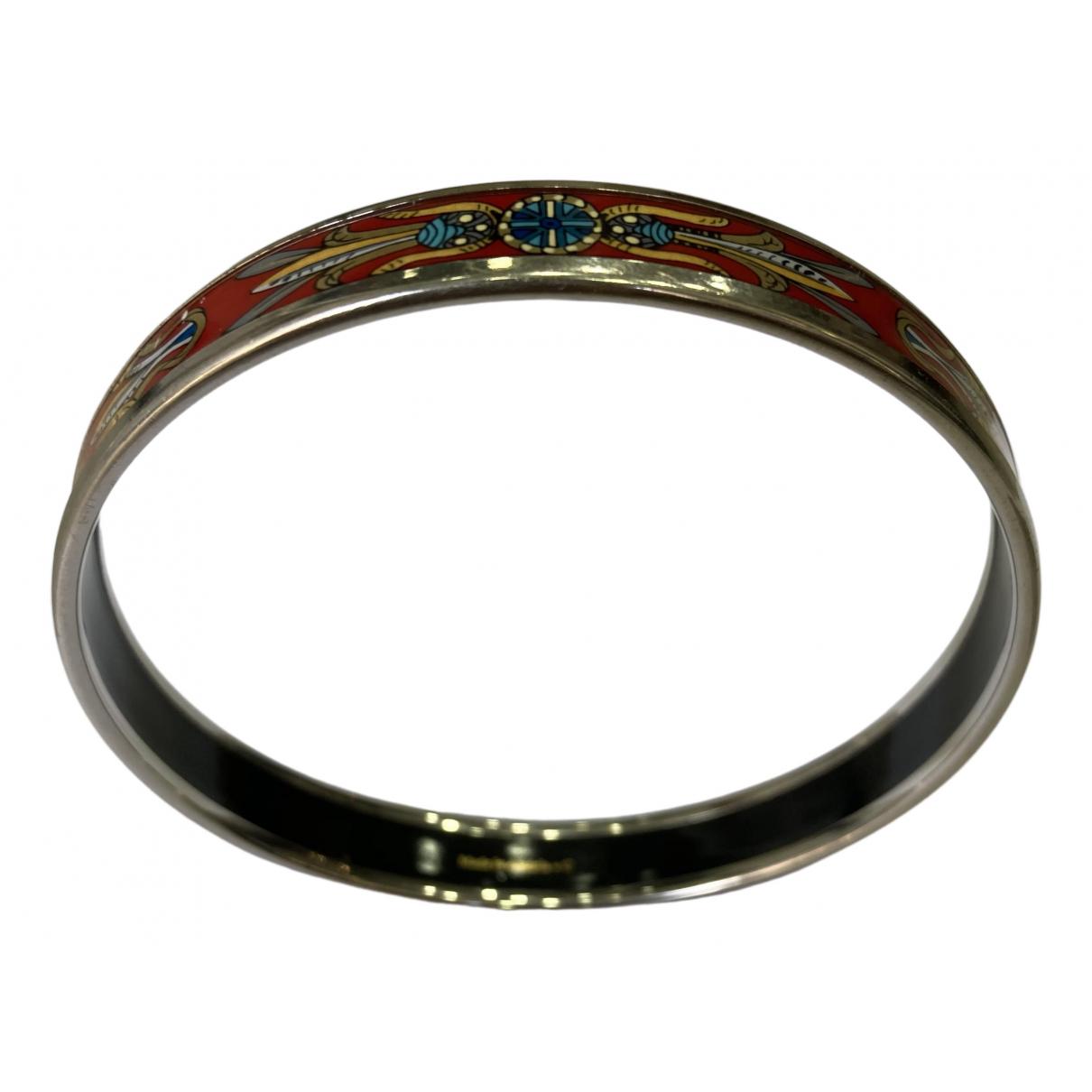 Hermes Bracelet Email Armband in  Rot Metall
