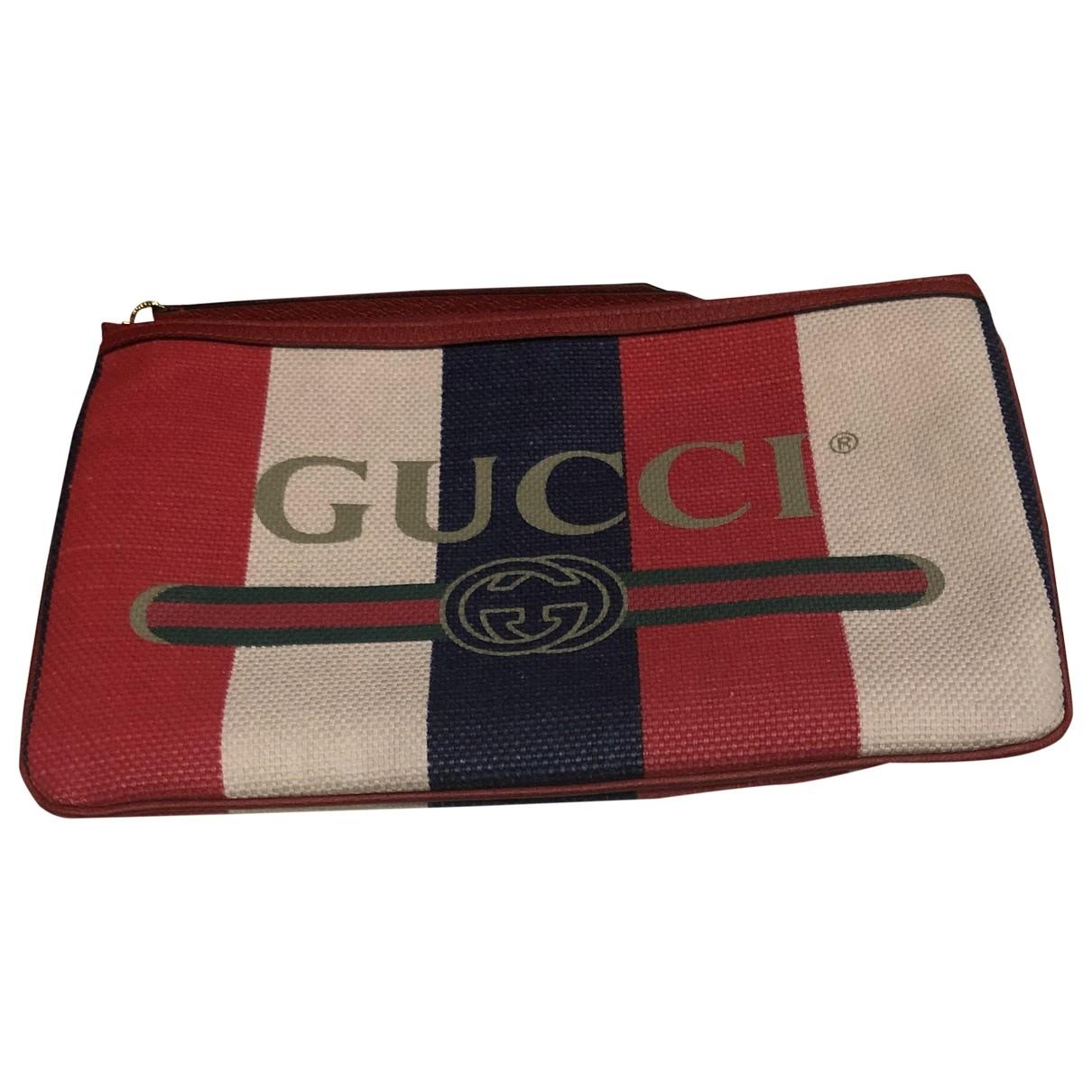 Gucci - Petite maroquinerie   pour homme en toile - multicolore