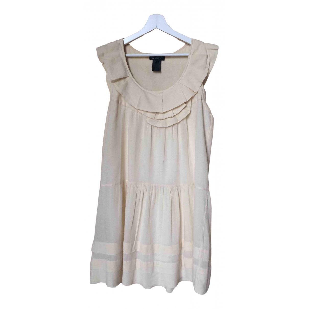 Isabel Marant Etoile \N Ecru Cotton dress for Women 3 0-5