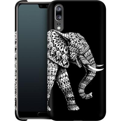 Huawei P20 Smartphone Huelle - Ornate Elephant 3.0 von BIOWORKZ