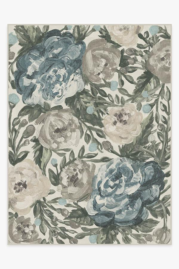 Washable Rug Cover | Camellia Jade Rug | Stain-Resistant | Ruggable | 9'x12'