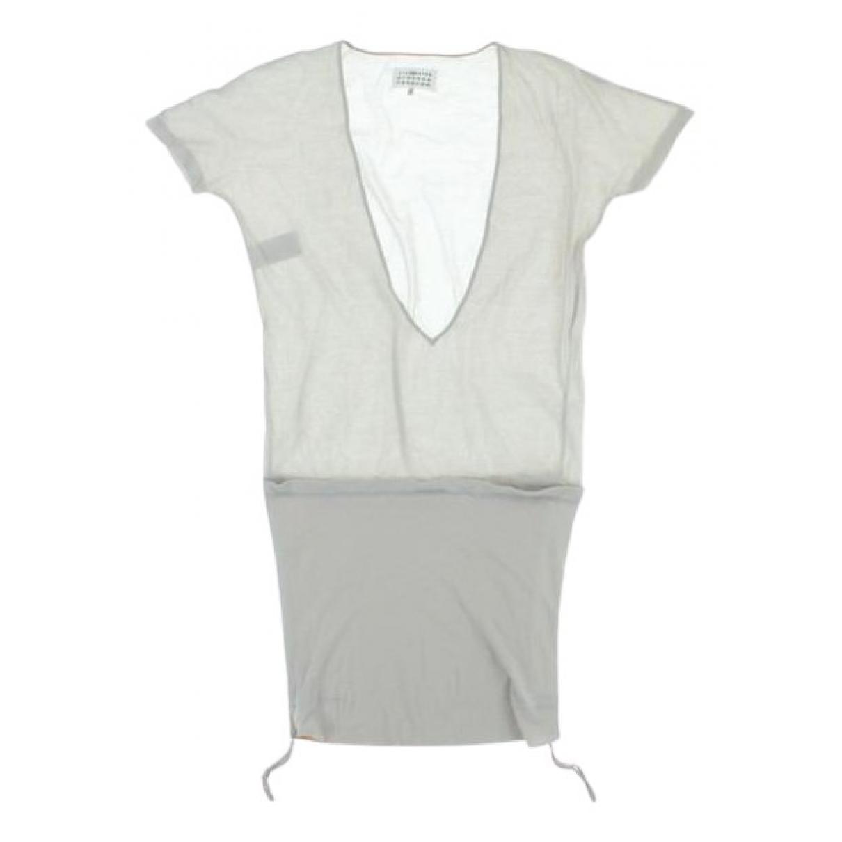 Maison Martin Margiela - Top   pour femme en coton - beige