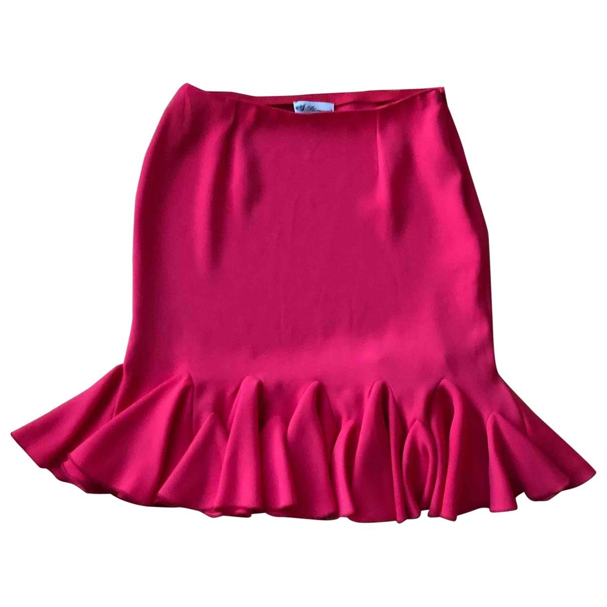 Blumarine - Jupe   pour femme - rouge