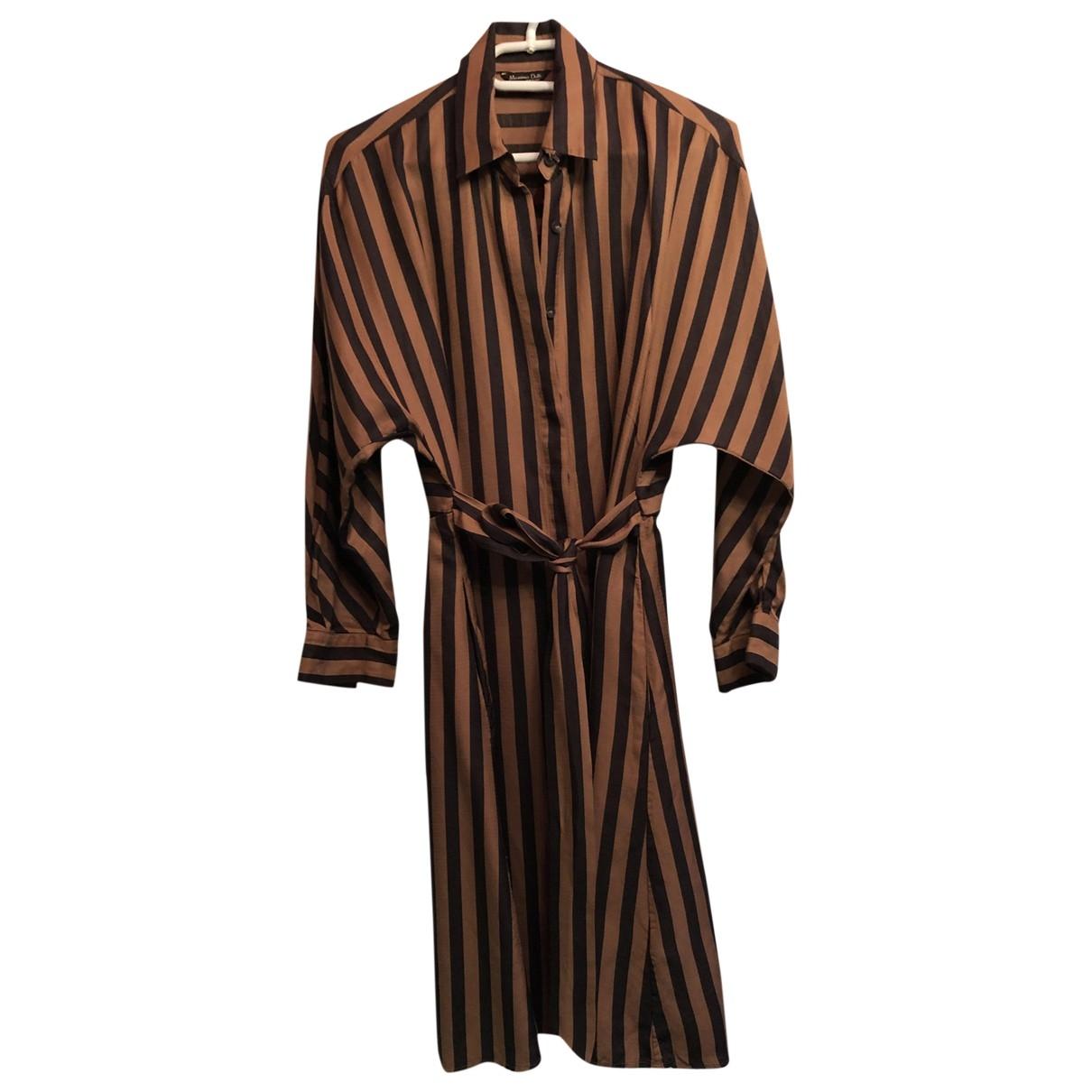 Massimo Dutti \N Camel dress for Women 36 FR
