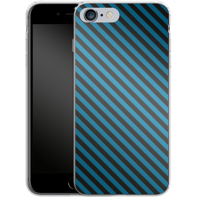 Apple iPhone 6s Plus Silikon Handyhuelle - Stripes von caseable Designs