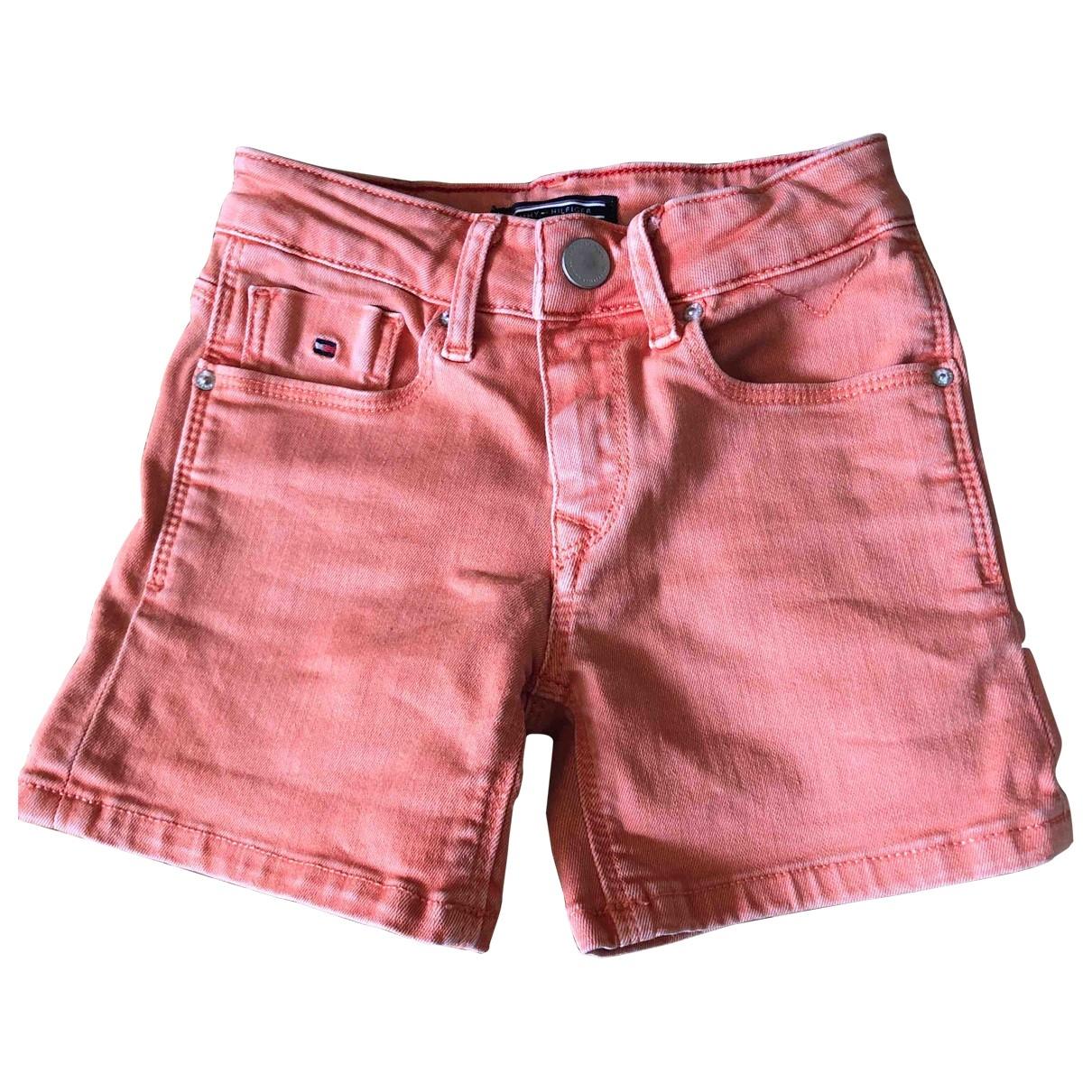 Tommy Hilfiger - Short   pour enfant en coton - orange