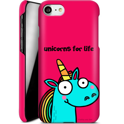 Apple iPhone 7 Smartphone Huelle - Unicorns for Life von Flossy and Jim