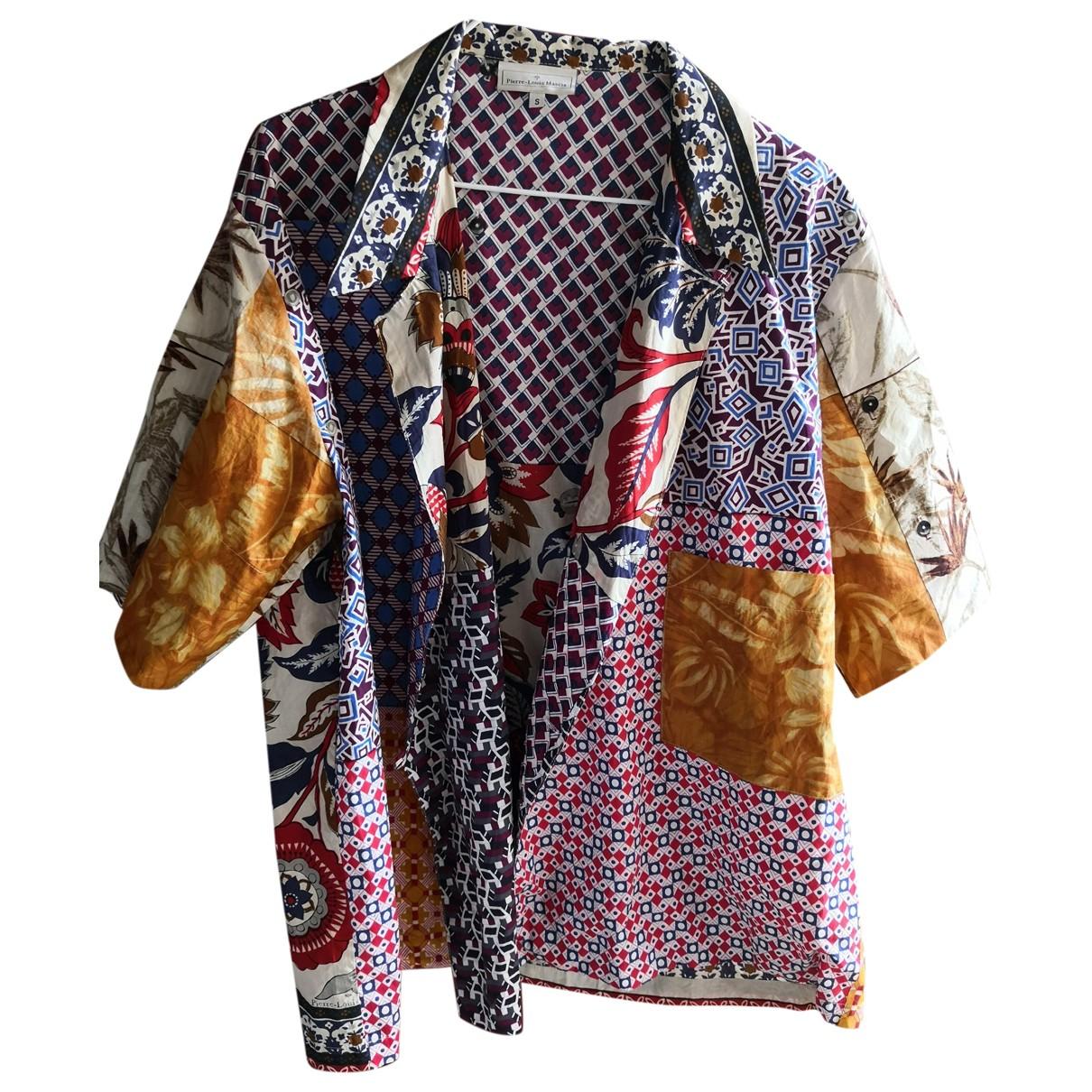 Pierre-louis Mascia - Top   pour femme en coton - multicolore