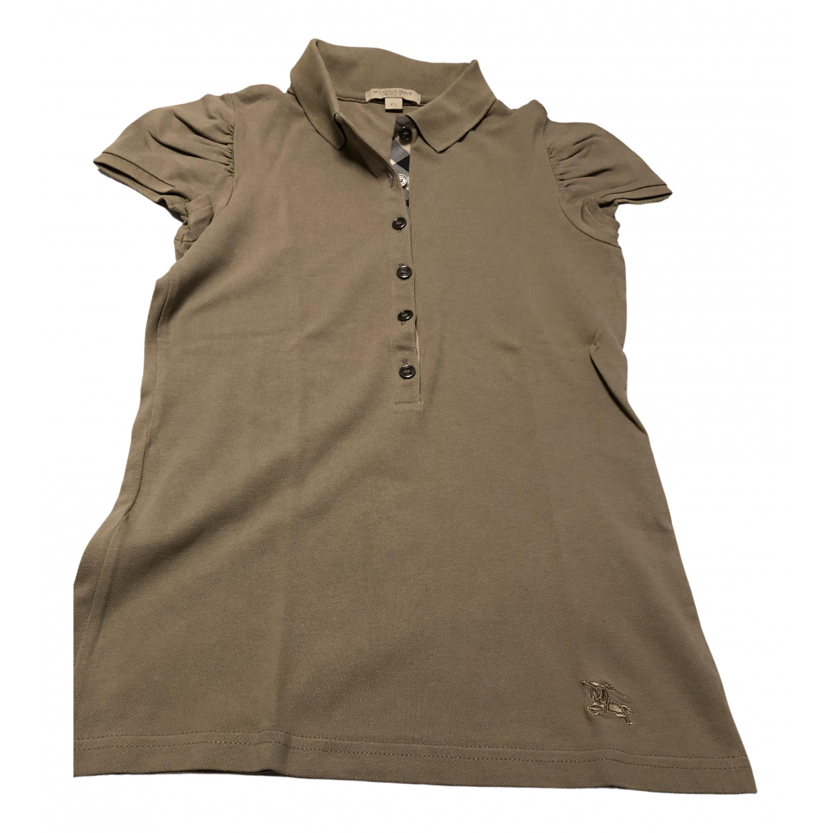 Burberry \N Beige Cotton  top for Women XS International