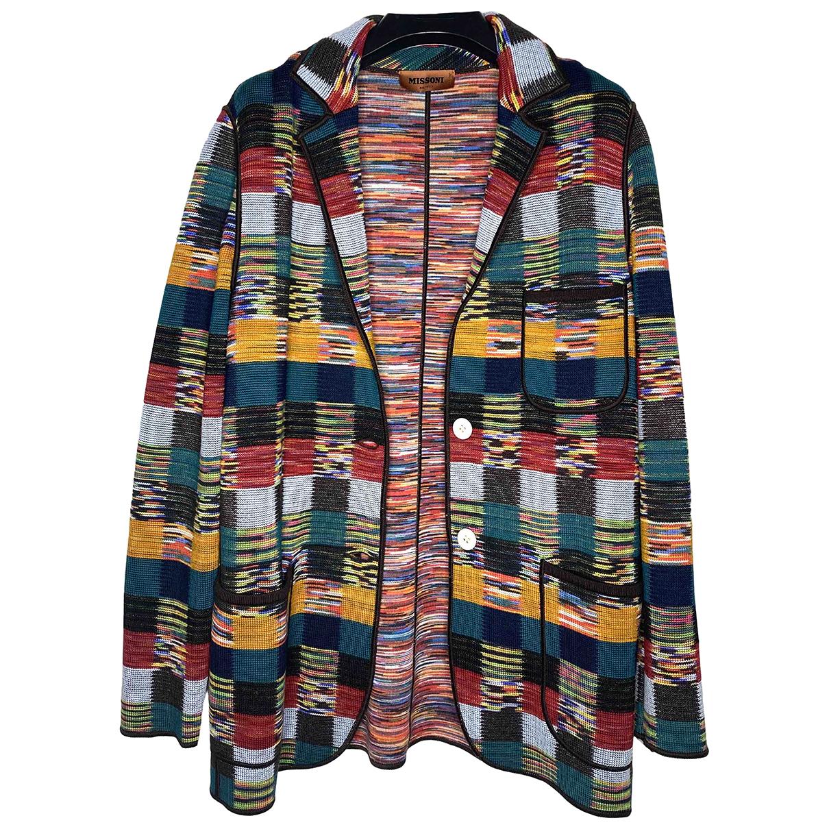 Missoni N Multicolour Wool Knitwear for Women 40 IT