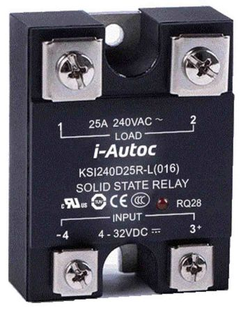 i-Autoc 80 A Solid State Relay, Zero Cross, Panel Mount, SCR, TRIAC, 530 V ac Maximum Load