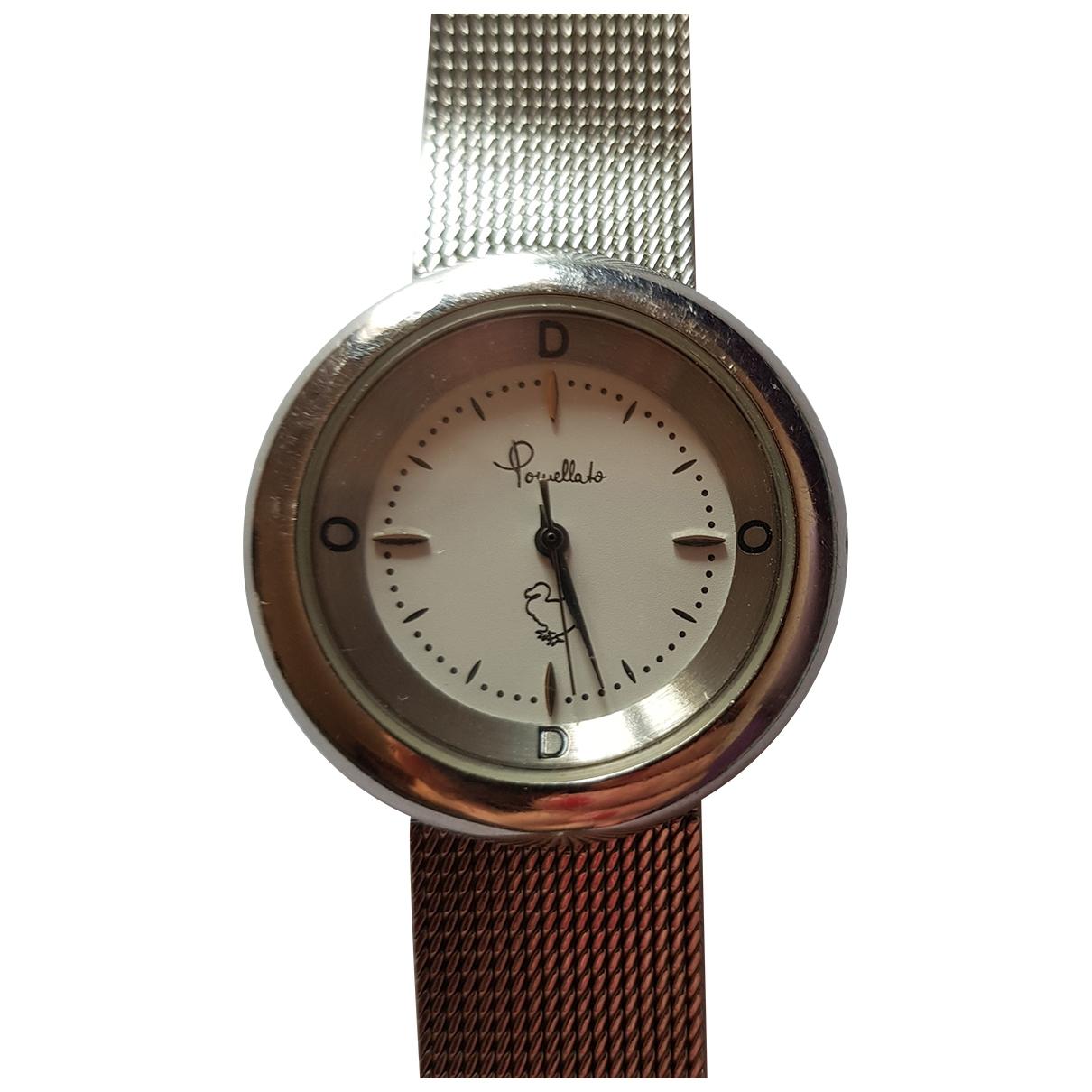 Pomellato \N Uhr in  Silber Stahl