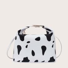 Tasche mit Kuh Muster