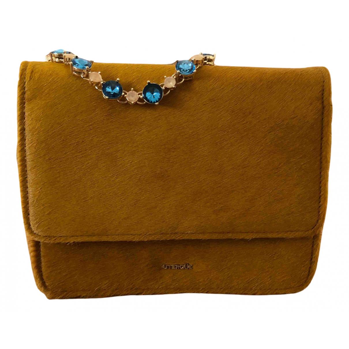 Uterque N Yellow Cloth handbag for Women N