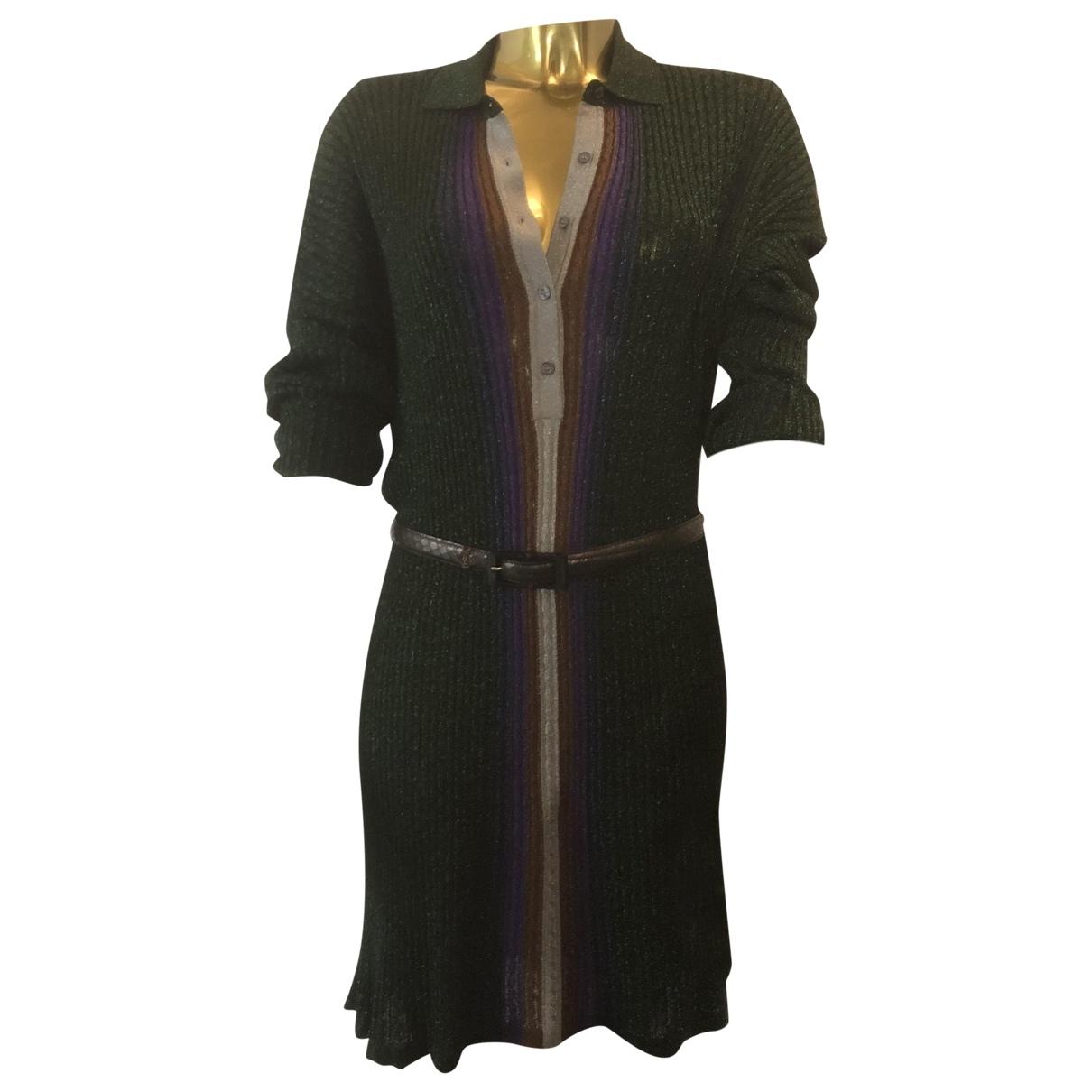 Marco De Vincenzo \N Kleid in  Gruen Synthetik