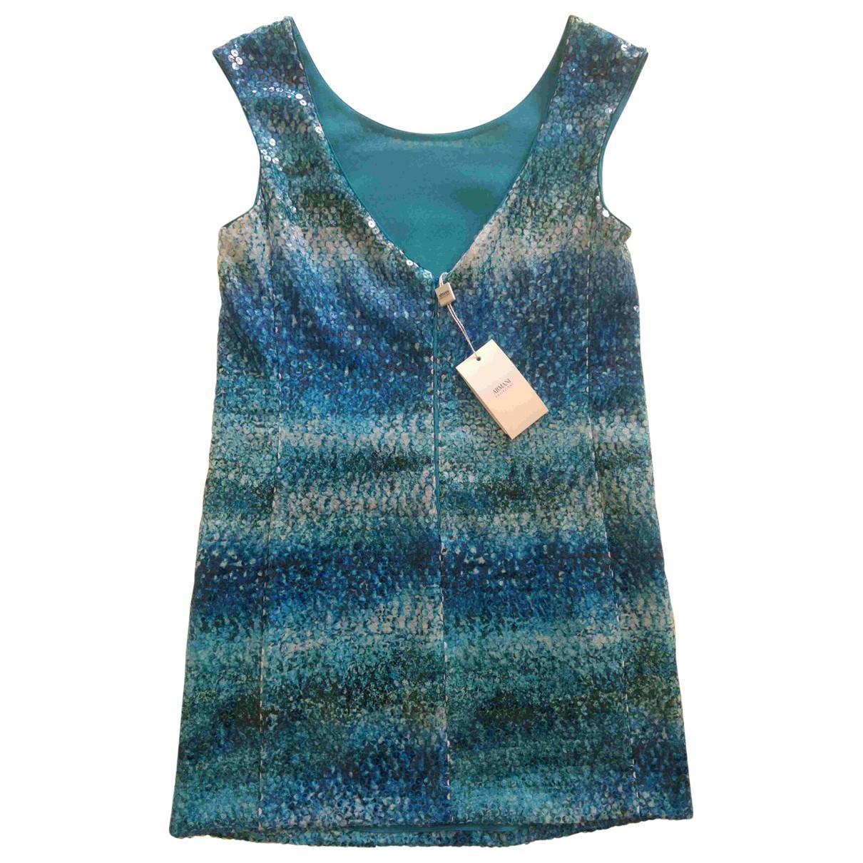 Mini vestido de Seda Armani Collezioni