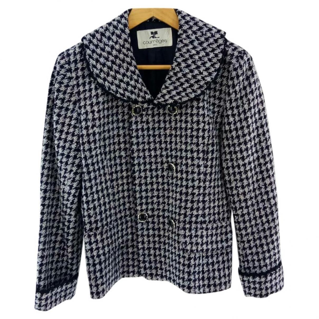 Courreges - Veste   pour femme en coton - gris