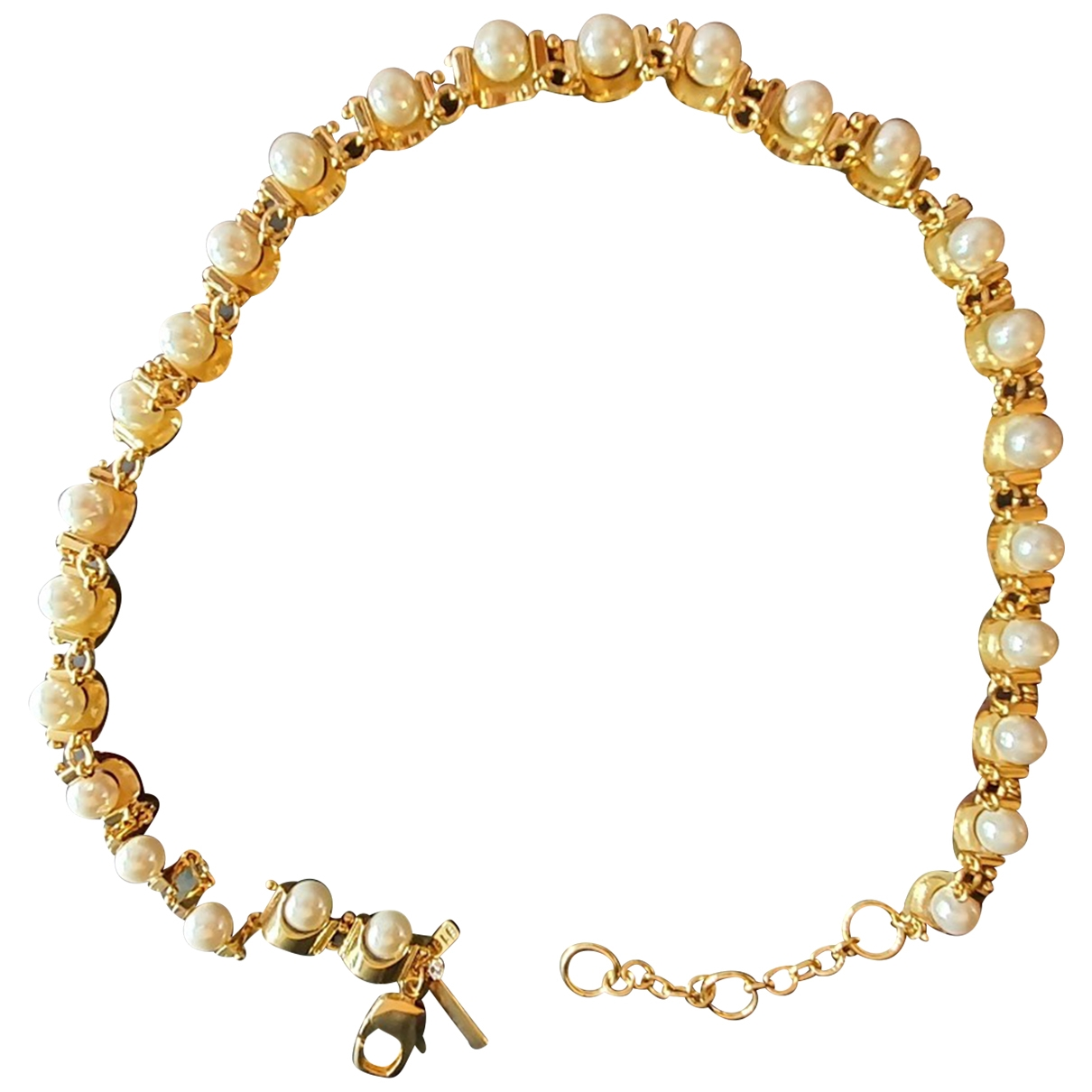 Lele Sadoughi \N Gold Metal necklace for Women \N