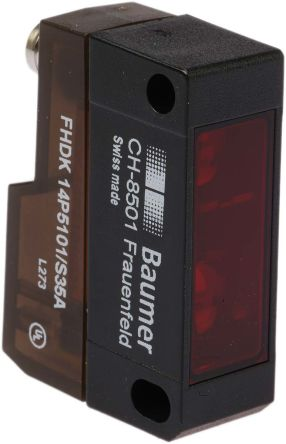 Baumer FHDK 14P Photoelectric Sensor Diffuse 20 → 350 mm Detection Range PNP