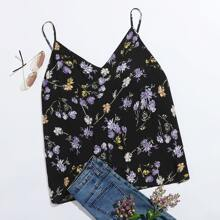 Cami Top mit Blumen Muster