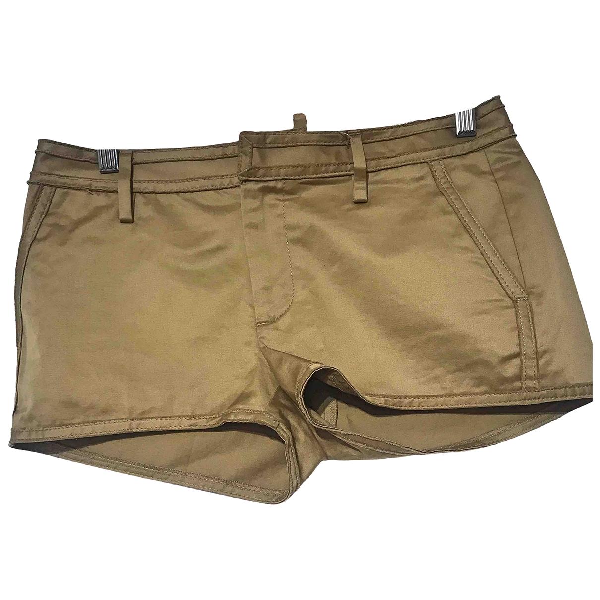 Dsquared2 \N Shorts in  Kamel Baumwolle