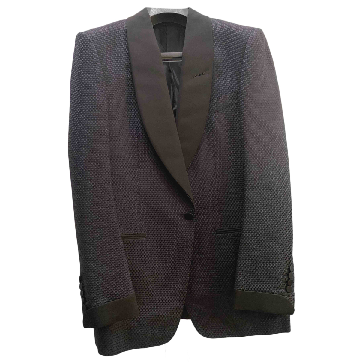 Tom Ford - Vestes.Blousons   pour homme en soie - bleu