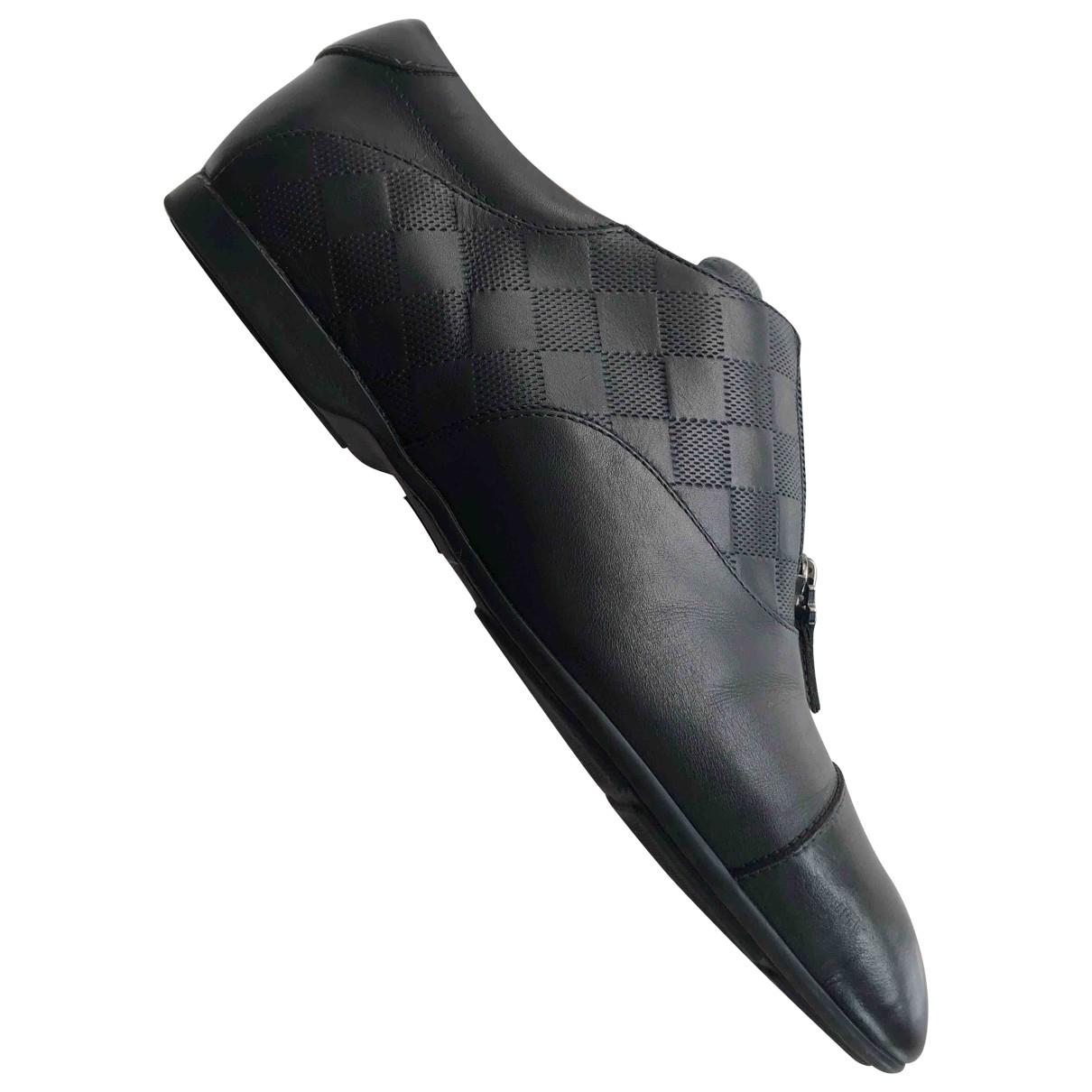 Louis Vuitton \N Black Leather Lace ups for Men 5 UK
