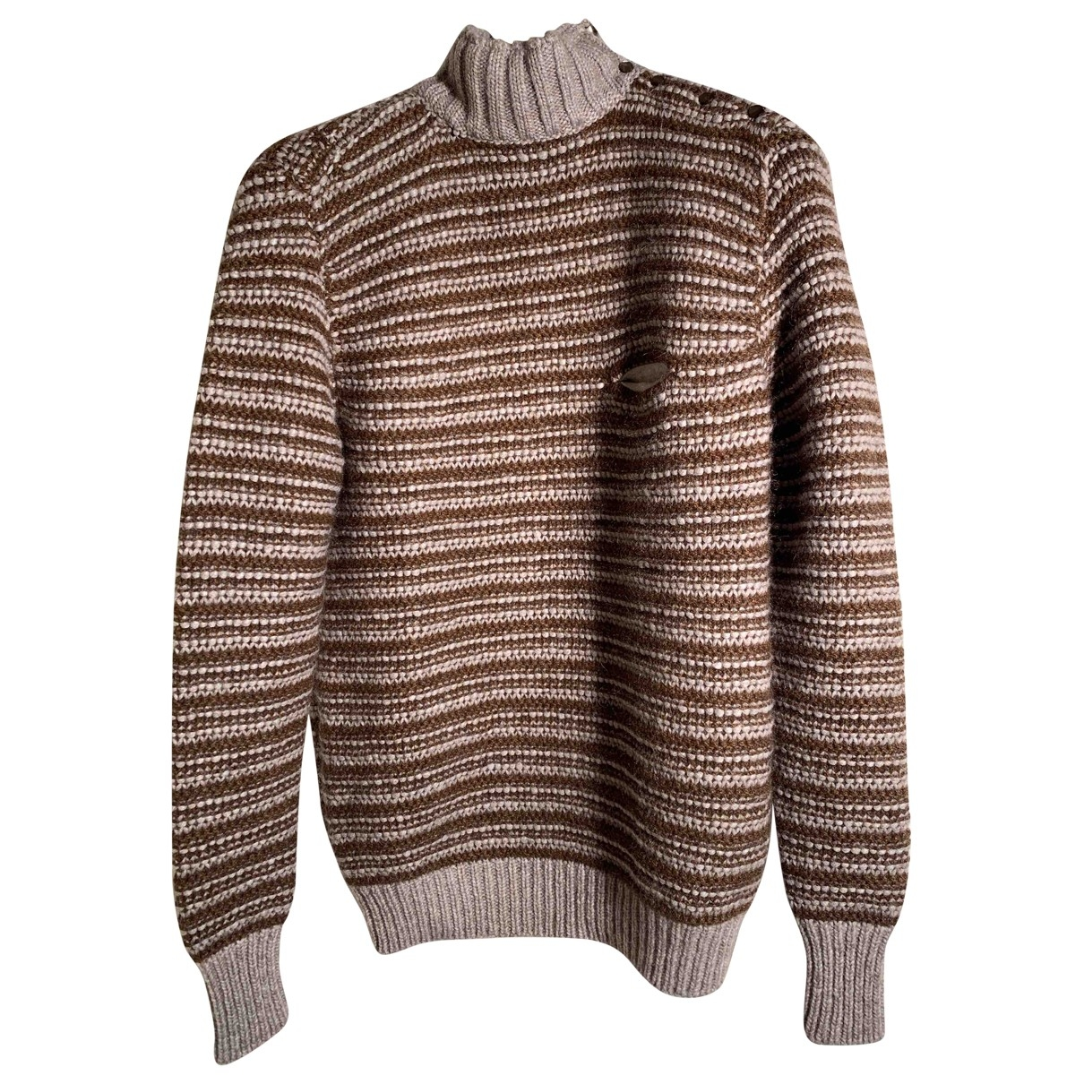 Non Signé / Unsigned \N Brown Cashmere Knitwear for Women M International