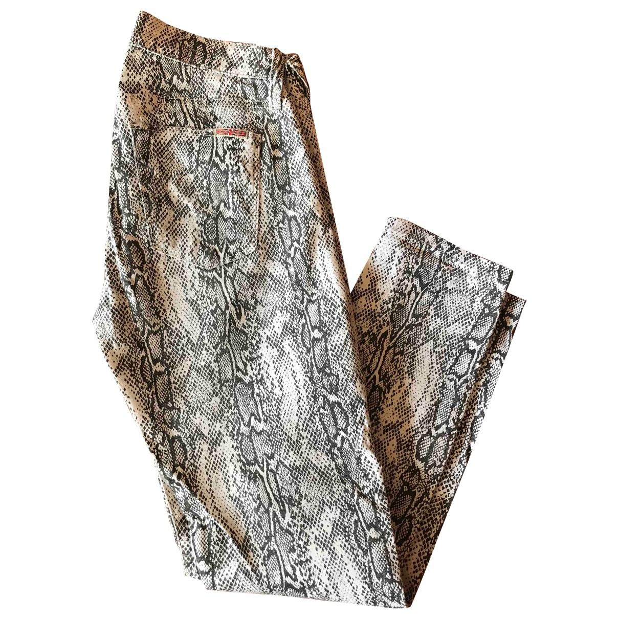 Hudson \N Jeans in Baumwolle - Elasthan