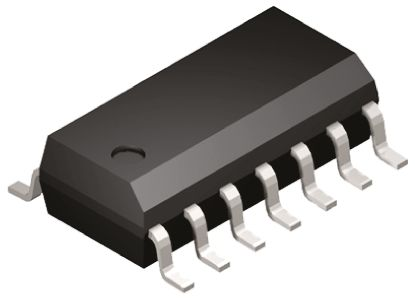Microchip MCP4251-103E/SL, Digital Potentiometer 10kΩ 257-Position Linear 2-Channel Serial-SPI 14 Pin, SOIC (2)