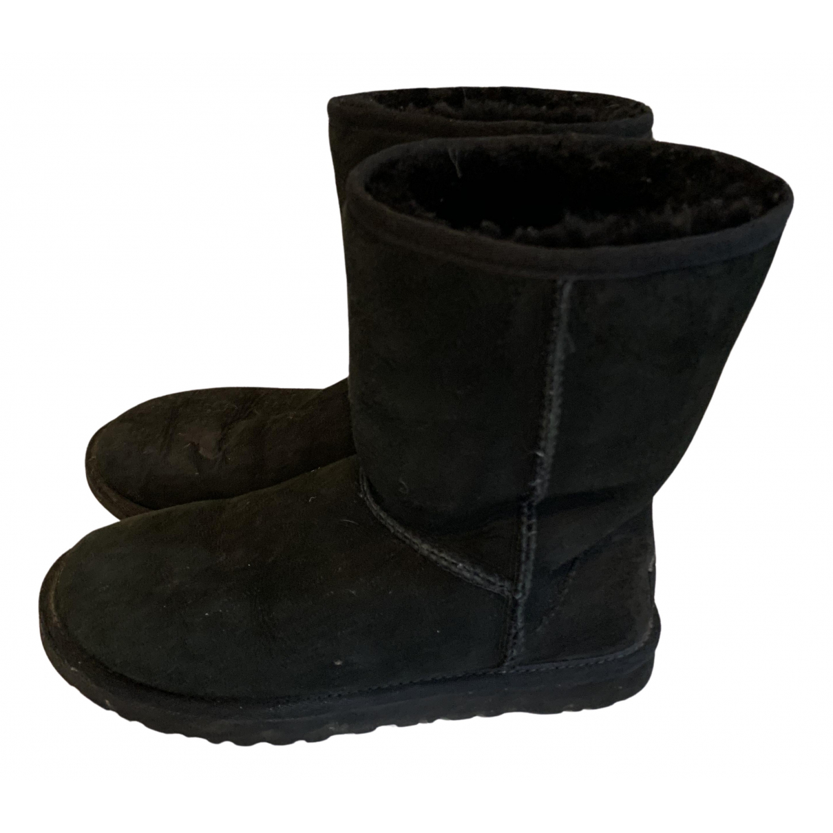 Ugg N Black Suede Boots for Women 37 EU