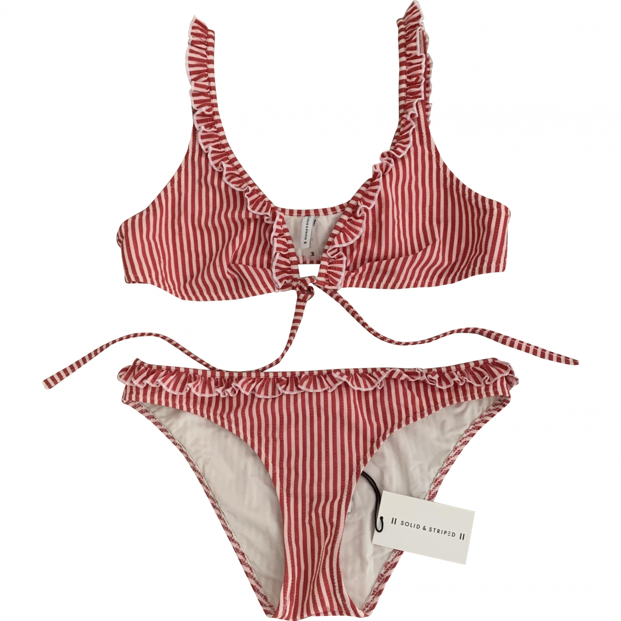 Solid & Striped \N Multicolour Cotton - elasthane Swimwear for Women \N