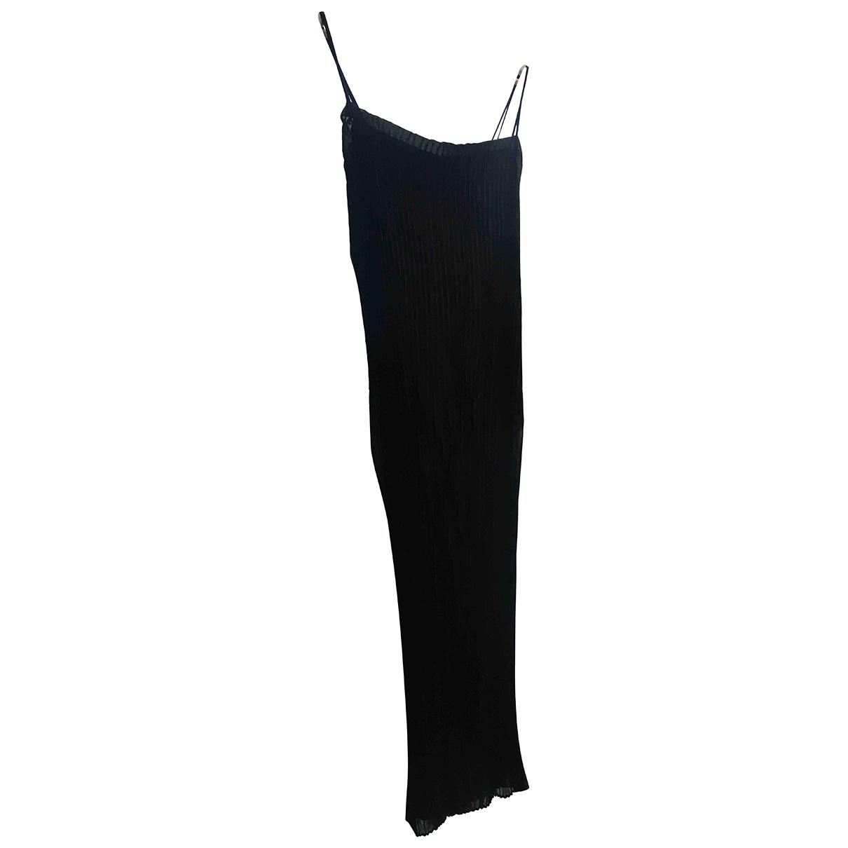 Dolce & Gabbana - Robe   pour femme en soie - noir
