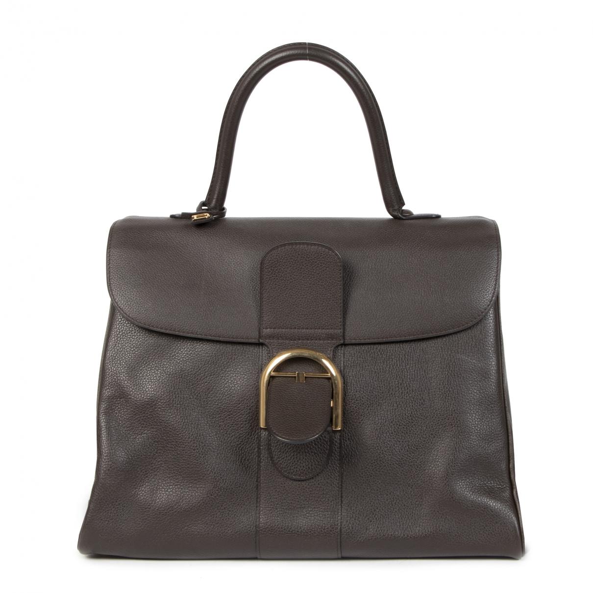 Delvaux Le Brillant Brown Leather handbag for Women \N