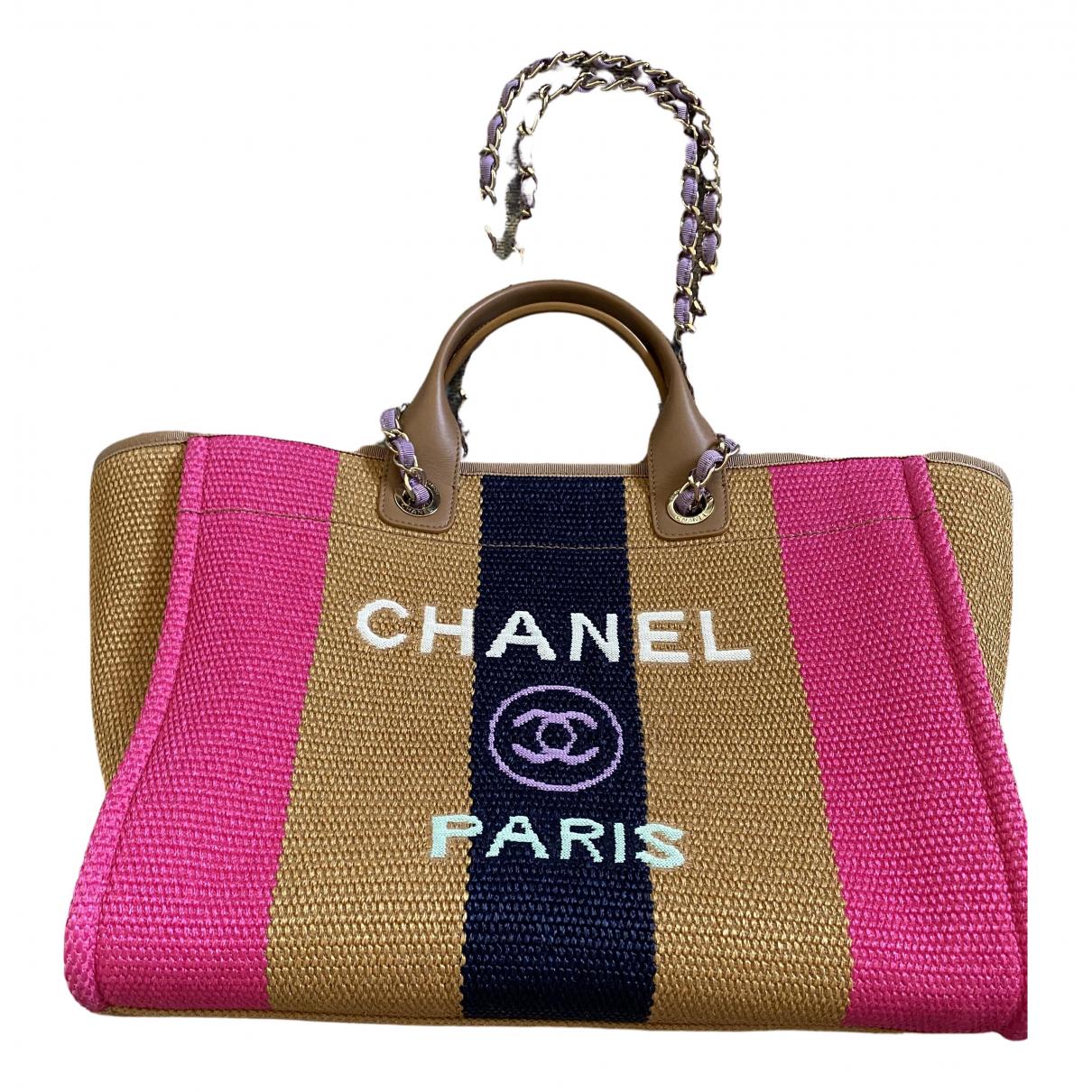 Cabas Deauville de Lona Chanel